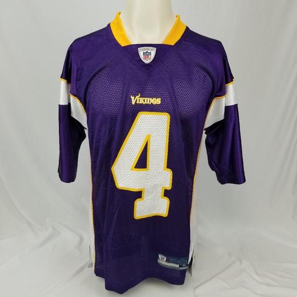 39ac4a934 Reebok Other | Minnesota Vikings Brett Farve 4 Jersey | Poshmark